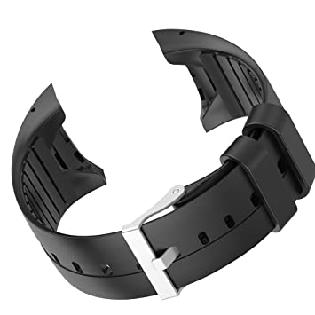 IPOTCH Banda de Muñequera Reemplazo Compatible con Polar M400 M430 Reloj Inteligente - Negro