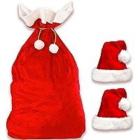 Jonami Saco de Papa Noel + 2 Gorros