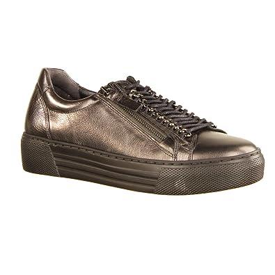 Gabor Comfort Damen Sneaker 96.466.12 Ferro 96.466.12 Ferro