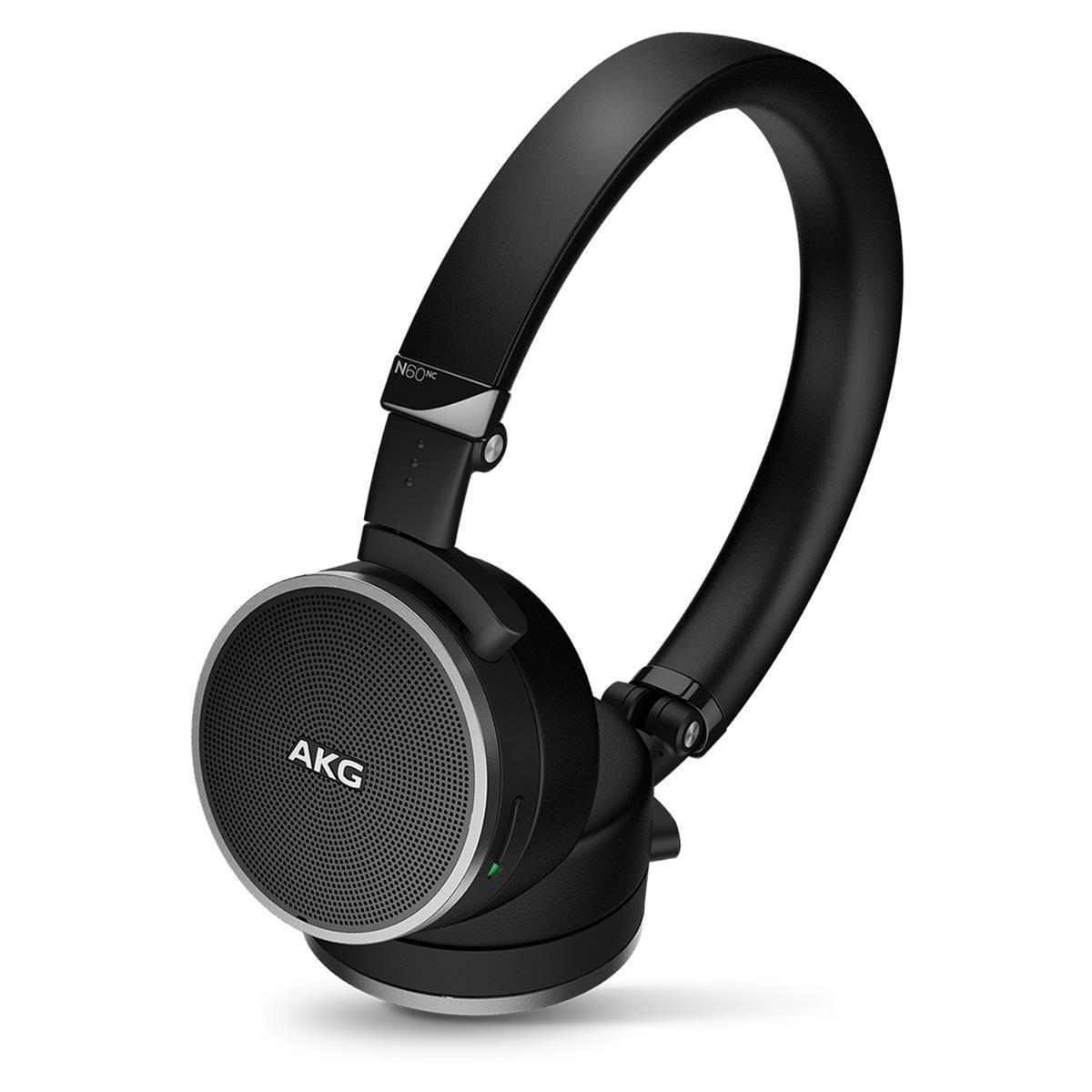 AKG Noise Canceling Headphone Black (N60) by AKG