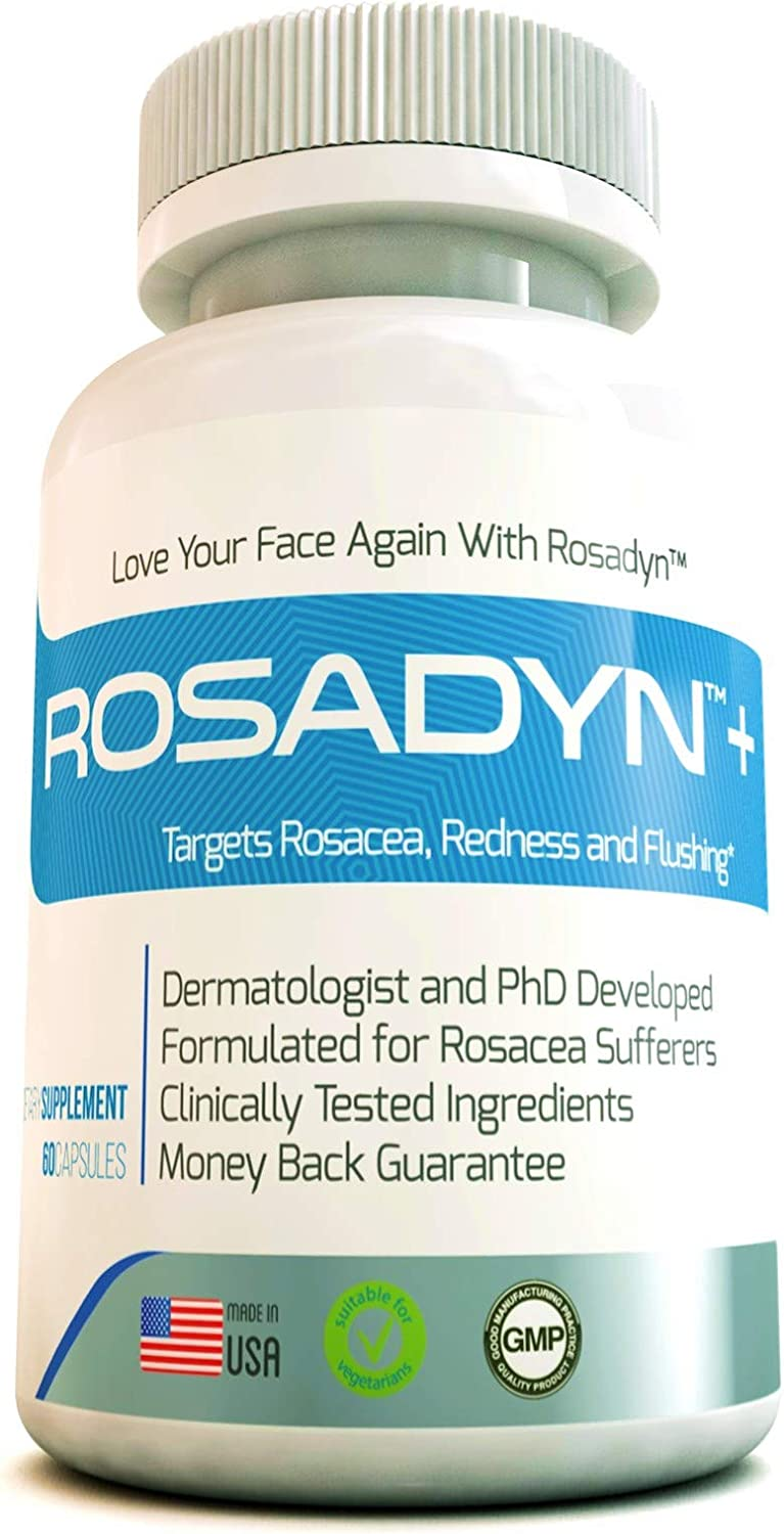 Amazon Com Rosacea Treatment Supplement By Rosadyn Relief For