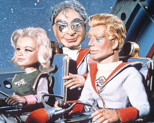 Fireball Xl5 8x10 Promotional Photograph Gerry Sylvia Anderson Classic TV Series (Promotional Classic Series)