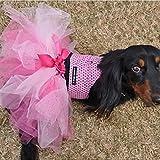 Glitter Pink Princess Dog Tutu For Sale