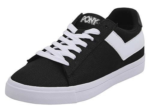 141b00ea7bb96 Amazon.com   Pony Women's Top-Star-Lo-Core-Canvas Sneakers Shoes ...