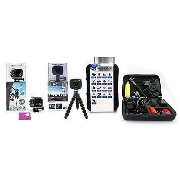 Pack Vision - NK-AC3056-FDR Cámara acción alta definición ...