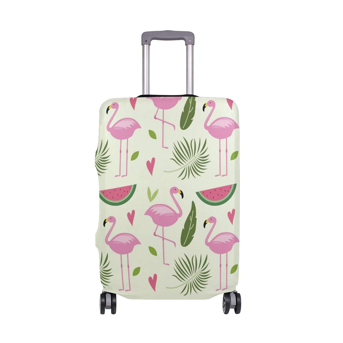 Baggage Covers Flamenco-Summer-Pattern Washable Protective Case