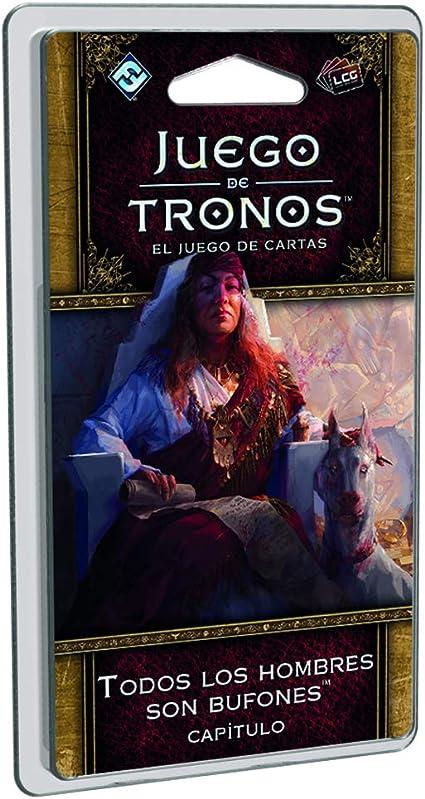 Fantasy Flight Games- Juego de Tronos 2ª Edición LCG - Todos Los Hombres Son Bufones - Español, Color (FFGT16): Amazon.es: Juguetes y juegos