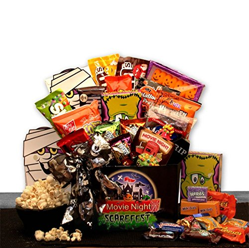 Halloween Scarefest Movie Gift Box w/ Redbox Card