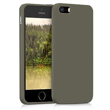 a3e3bdeed09 kwmobile Funda compatible con Apple iPhone SE / 5 / 5S: Amazon.es:  Electrónica