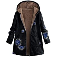 Abrigo De Invierno Mujer Libre Abrigos para Mujer Rebajas Talla Grande Abrigo con Capucha De Manga Larga Vintage…