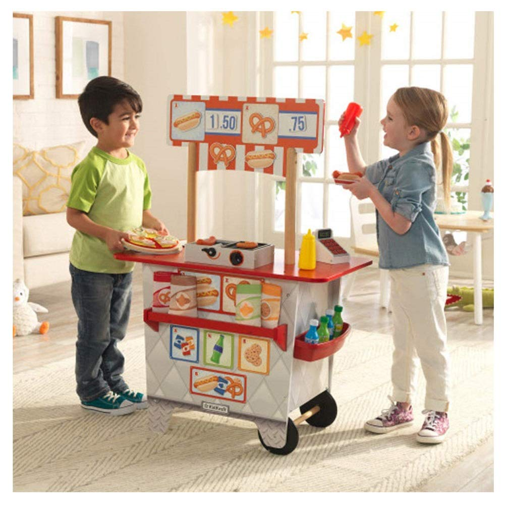 KidKraft My Ultimate Snack Stand with Over 54 Accessories by KidKraft