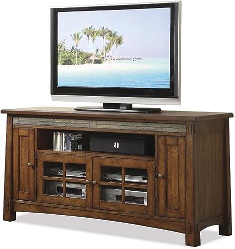 Riverside Furniture Craftsman Home 62 Inch TV Stand