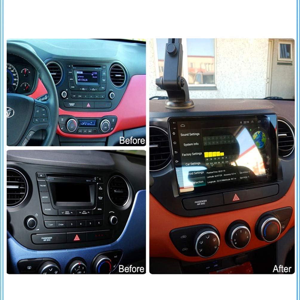 Enthalten Kamera//Auto Heizung XMZWD 9 Zoll 2G Ram 32G Rom Android 8.1 Full Touch Auto Multimedia System F/ür Hyundai I10 2017-2018 GPS Radio Navigation Mit WiFi
