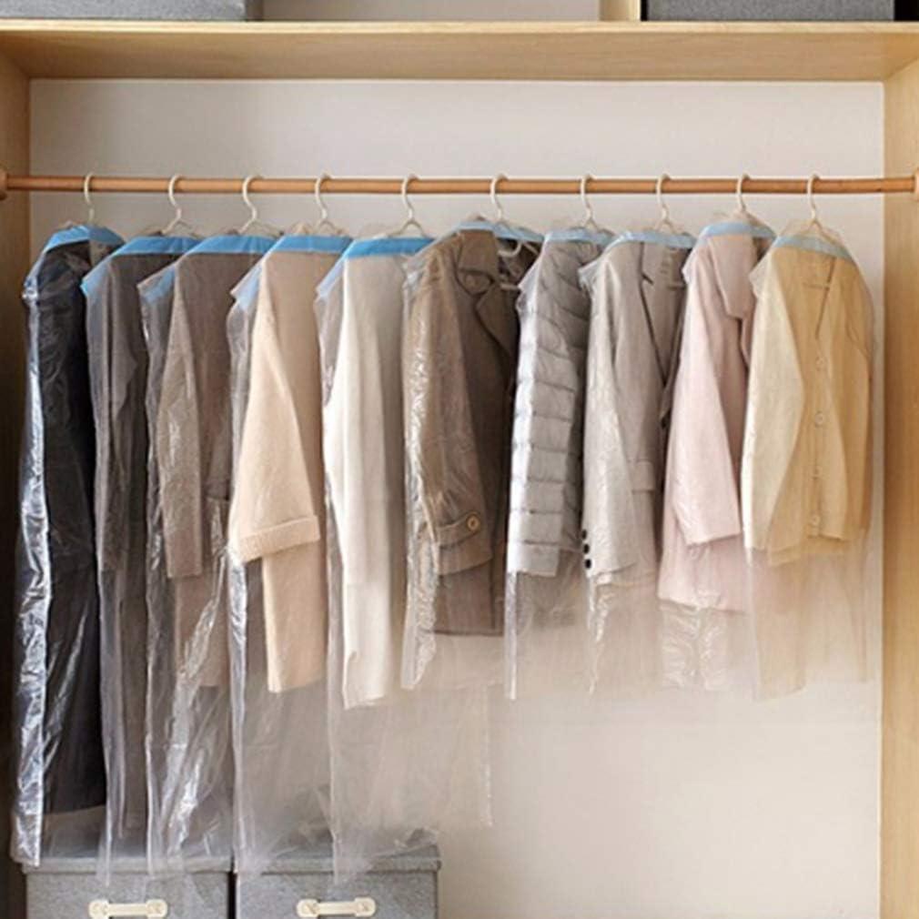 LnLyin 5 ST/ÜCKE Anzug Tasche Kleidungsst/ück Abdeckungen Transparente Kleidung Anzug Kleidungsst/ück Staubdicht Abdeckung Aufbewahrungstasche