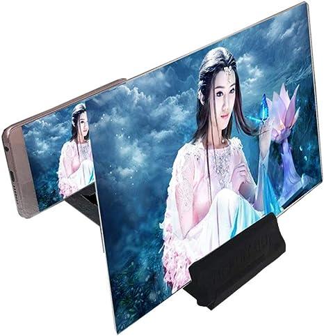 YLYX 14 Pulgadas Amplificador De Pantalla para Tel/éfono M/óvil Lente BLU-Ray 3D HD Protecci/ón Lupa Ojo Soporte Universal Inteligente Cuidado La Oficina Video En El Hogar Escritorio Port/átil Plegable