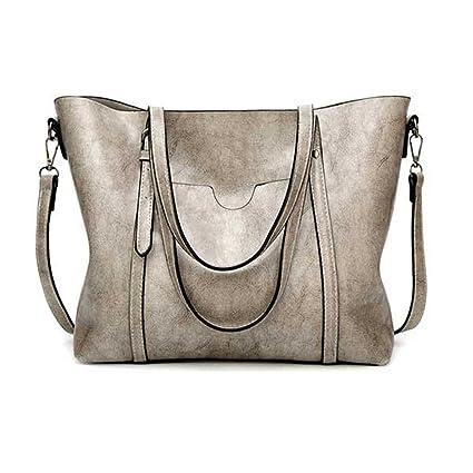 9ecdd777bef4 Amazon.com: UOXMDNJC Women Bag Women's Leather Handbags Lady Hand ...