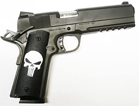 DURAGRIPS - RIA Rock Island Armory 1911 Tactical Ambi Grips - Gritty  PUNIZHER