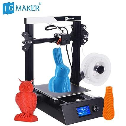 Festnight JG MAKER Impresora 3D de alta precisión Magic Kit de ...