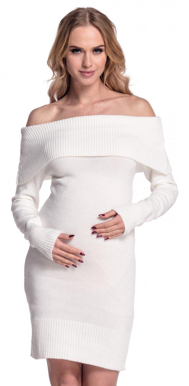 Zeta Ville - Vestido bardot de punto - hombros descubiertos - para mujer - 909z (Cappuccino, 38/42): Amazon.es: Ropa y accesorios