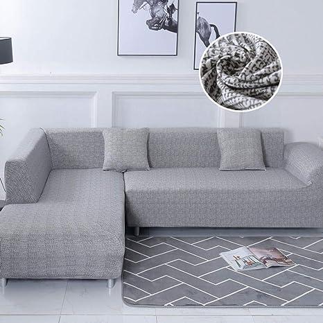 pieza de esquina para sala de estar Fundas Sofa Elasticas Impermeables Ordene El Juego De Sofs