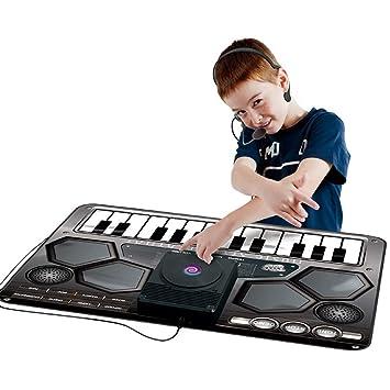 Musical Alfombra Juego Ttge Adecuado Juguetes Niños Dj De Para 53Aq4RjL