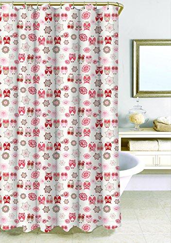 "Homewear ""Owl Ya Doin"" Shower Curtain, 70"" x 72"", Multicolor"