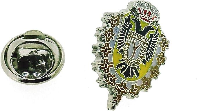 Gemelolandia Pin de Solapa Caballero Orden de Yuste: Amazon.es: Ropa y accesorios