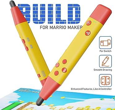 IFYOO Touch Stylus Pen compatible con Super Mario Maker 2 y otros juegos de pantalla táctil, compatible con Nintendo Switch, Switch Lite: Amazon.es: Videojuegos