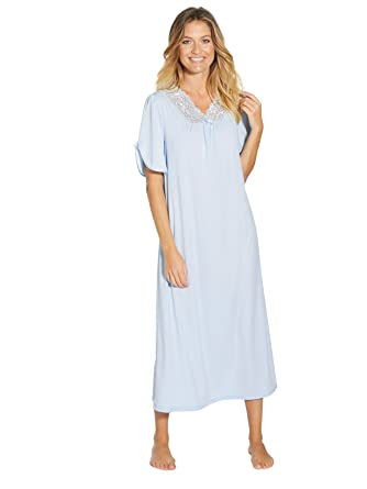 la meilleure attitude becd4 c42f7 Lingerelle - Lot de 2 Chemises de Nuit - Femme