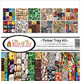 Ella & Viv by Reminisce EAV-927 Ella & Viv Tinker Tray Scrapbook Collection Kit