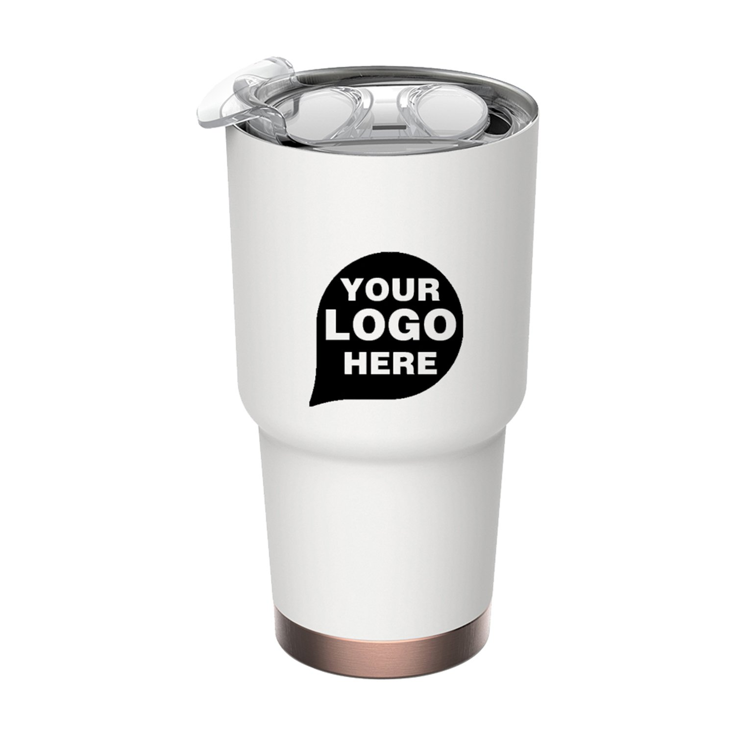 30 Oz/900 ml Hot And Cold / Double-walled Big Boss Travel Mug - 75 Quantity - $16.75 Each - PROMOTIONAL PRODUCT / BULK / BRANDED with YOUR LOGO / CUSTOMIZED