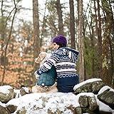 Kurgo Loft Dog Jacket and Reversible Dog Coat, Ink Blue / Seaglass, Medium