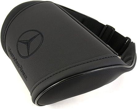 Amazon.com: Mercedes negro almohada de apoyo cuello ...
