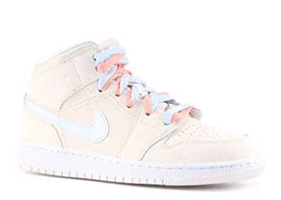 5c88e69521d Image Unavailable. Image not available for. Color  AIR Jordan 1 MID GG   Multi Color Swoosh  - 555112-035 ...