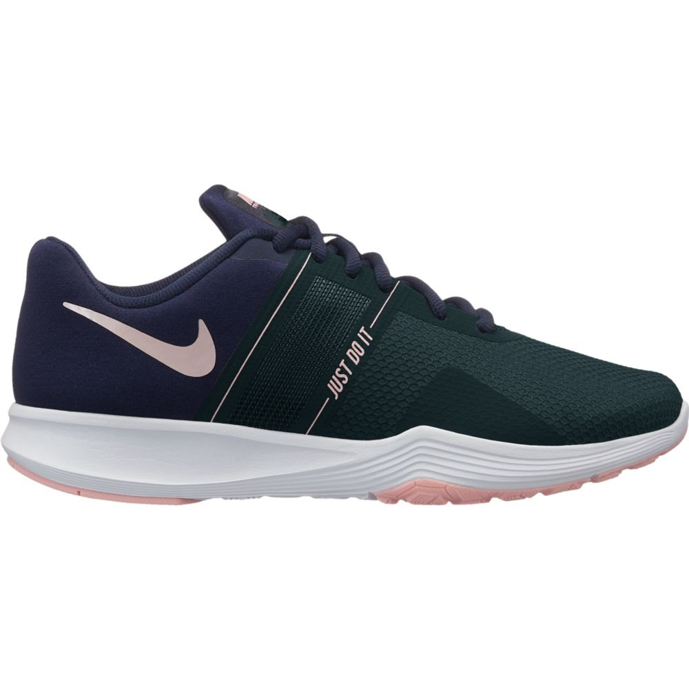Nike Women's City Trainer 2 Training Shoes (6.5 B(M) US, Obsidian/Storm Pink-faded Spruce)