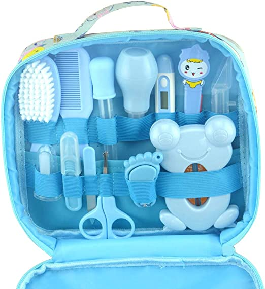 CSFM-Baby 13 unids/Set Kit Aseo Limpieza para bebés con termometro ...