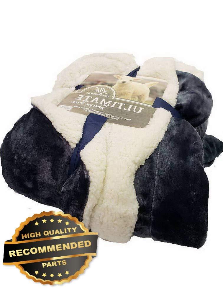 Gatton Empire Home Queen Size Sherpa Reversible Fur Winter Blanket Sale | Style BLNKT-120320002