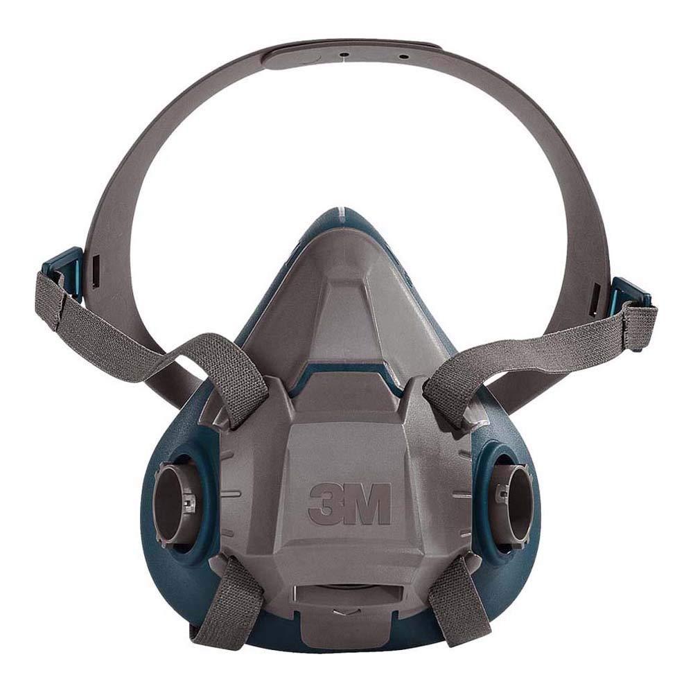 3M 6503, Media Máscara 6500, Grande, Silicona, 1 unidad, Certificado de seguridad EN