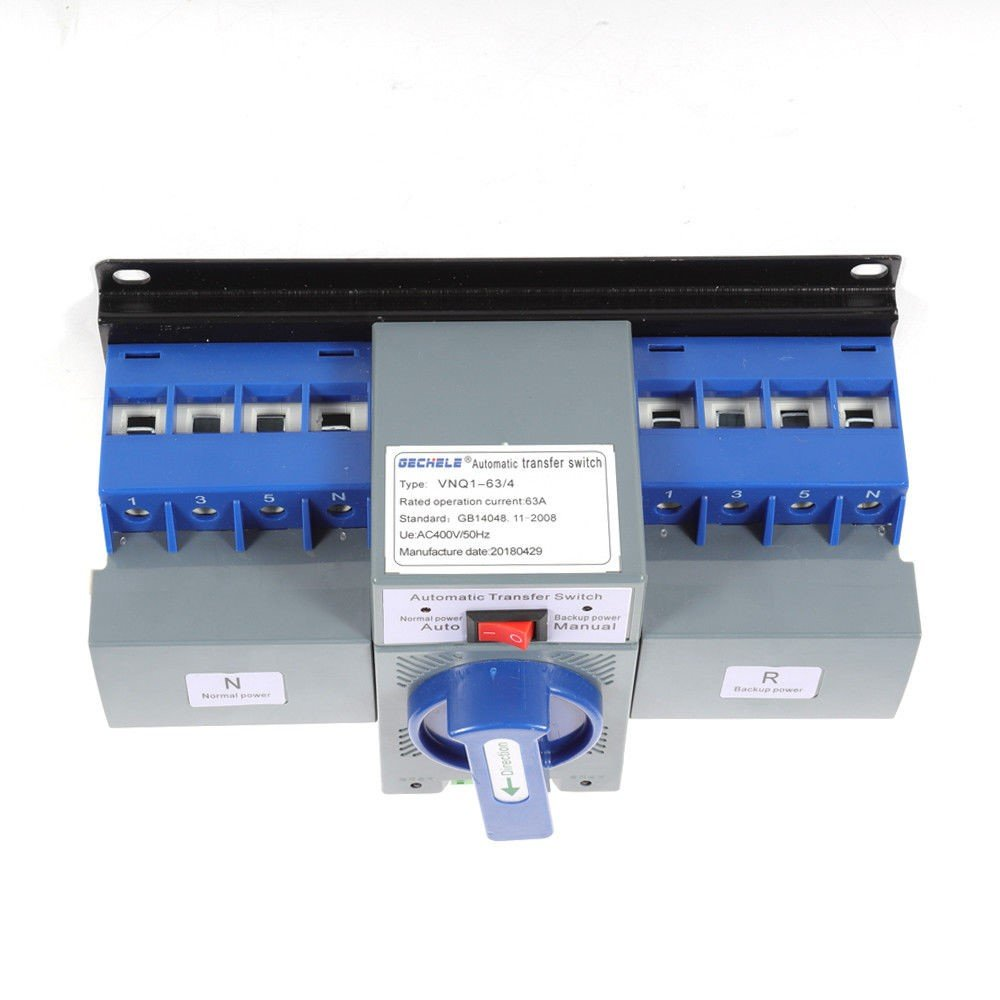 TFCFL Professional Automatic Transfer Switch Dual Power 4P 63A 400V Changeover Switch by TFCFL (Image #2)