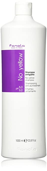 Fanola No Yellow Shampoo Large 1000ml Bottle