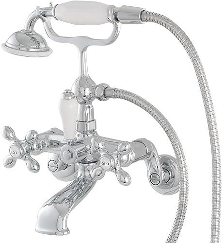 American Bath Factory F90B-CH 90 Series Wall Mount Bathtub Faucet – Chrome