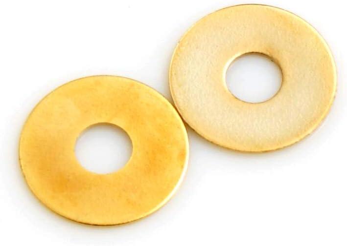 Design61 Lot de 100 rondelles en laiton /Ø 18 mm