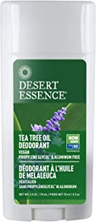 product image for Desert Essence Tea Tree Oil Deodorant - 2.5 Oz - Long Lasting - Propylene Glycol & Aluminum Free - Neem, Lavender, Chamomile - Neutralizes Odor - Citrus Scent - Skin Protection - Antiseptic