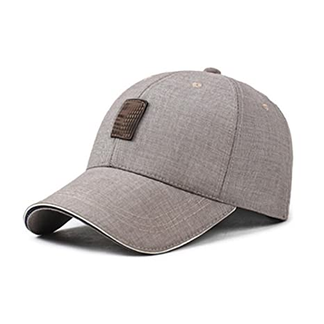 Amazon.com : Miki Da Summer Breathable Golf Hats Mens Baseball Caps Male Classical Adjustable Outdoor Bone Snapback Polo Cap Dad Hat Drake Gorras Light ...