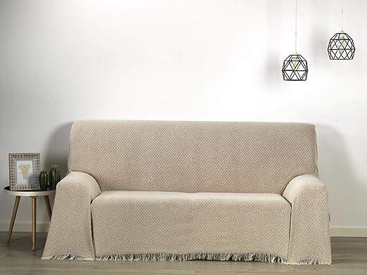 HIPERMANTA Colcha Foulard Multiusos Rombos Altea para sofá y para ...
