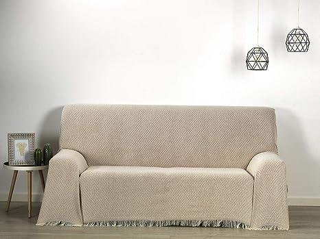 HIPERMANTA Colcha Foulard Multiusos Rombos Altea para sofá y ...