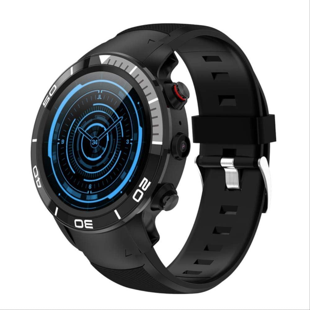 ZIHUINI Reloj Inteligente Reloj Inteligente con navegación GPS Reloj Inteligente 4g Ip68 Llamada por Internet Tarjeta SIM Monitoreo del Ritmo cardíaco Reloj DeportivoGris