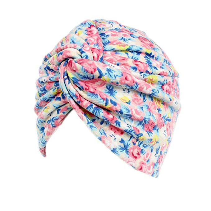 db5e3d2e8 Hotsellhome Women Ladies Slouchy Beanie Hat Baggy Floral Cancer Sleeping  Hat Cotton Soft Head Wrap Cap Scarf Snood Turban Headwear For Chemo  alopecia ...