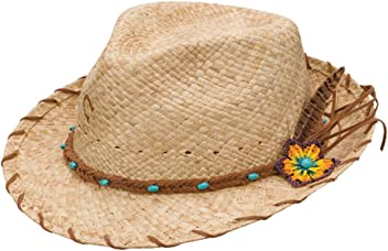 d71c3802b5720 Charlie 1 Horse CSSNKS-342481 Sun Kissed Straw Fedora in Natural