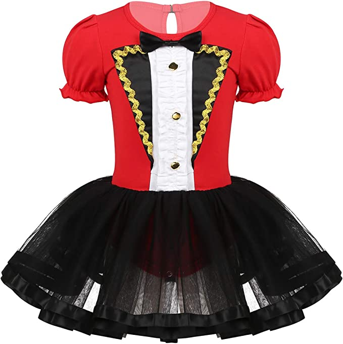 Agoky Disfraz de Domador Circo para Niña Vestido Tutú de Princesa ...